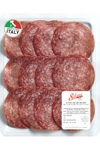 Picture of salami milano sliced