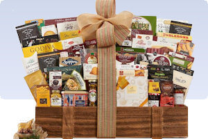 Picture of sensational gourmet gift basket