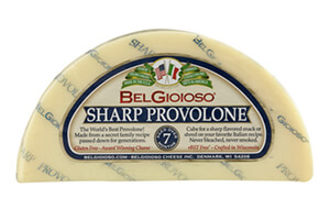 Picture of sharp provolone cheese