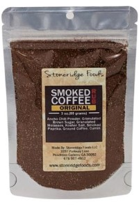 Picture of smoked coffee rub