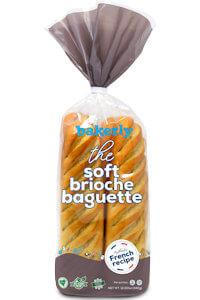 Picture of soft brioche baguette