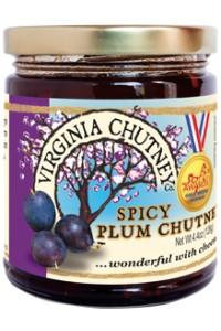 Picture of spicy plum chutney