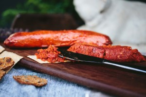 Picture of spotted trotter nduja