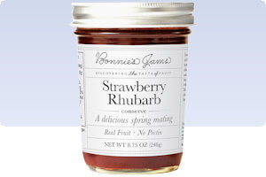 Picture of strawberry rhubarb conserve