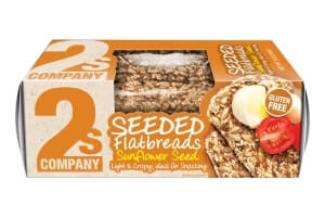 Picture of sunflower seeded flatbreads