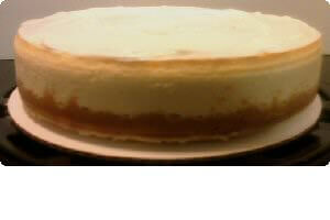 Picture of sweet potato cheesecake