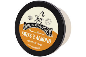 Picture of swiss & almond cheese spread