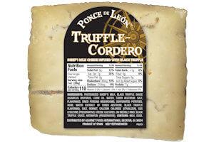 Picture of truffle cordero cheese