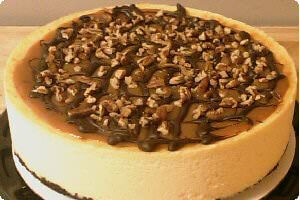 Picture of turtle cheesecake