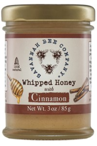 Picture of whipped honey with cinnamon