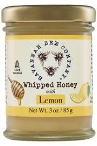Picture of whipped honey with lemon