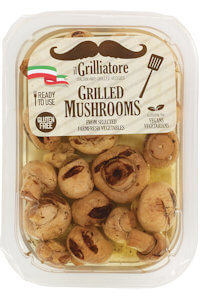 Picture of whole grilled mushrooms