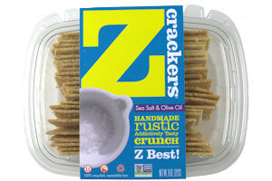 Picture of z crackers sea salt and olive oil