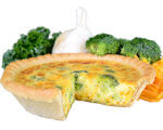 Picture of Broccoli and Cheddar Quiche