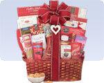Picture of Extravagant Valentine Gift Basket