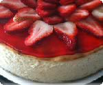 Picture of Pineapple Strawberry Cheesecake