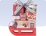 Picture of Small Red Sweets Sleigh