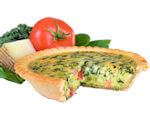 Picture of Spinach and Tomato Quiche