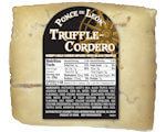 Picture of Truffle Cordero Cheese